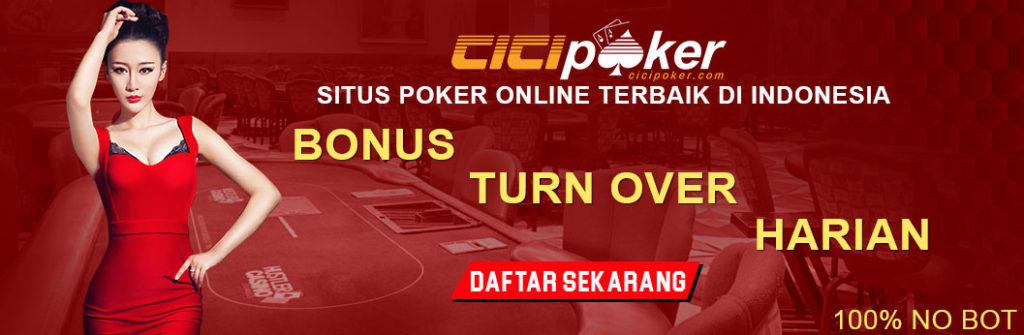 bonus turnover poker online terpercaya