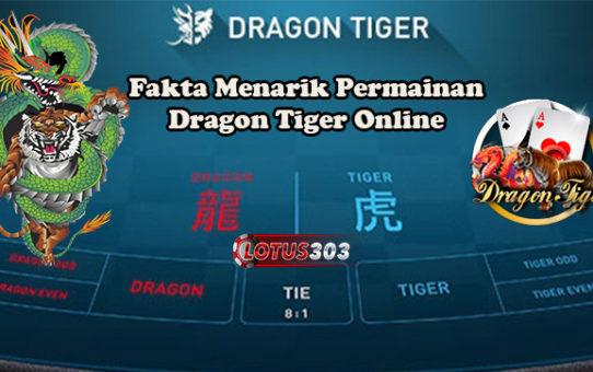 Fakta Menarik Permainan Dragon Tiger Online